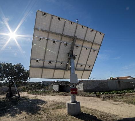 Seguidores solares DAS4 en Portugal